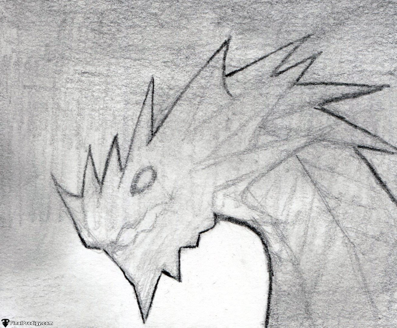 how to draw a dragon head side view finalprodigy com